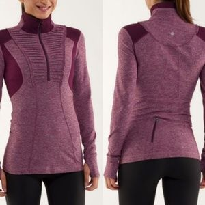 Lululemon Run Your Heart Out Pullover 6